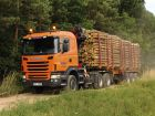 2010 Scania G440 6x6 Timber Truck