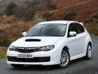 2008 Subaru Impreza WRX STi UK